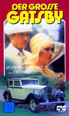 The Great Gatsby - German VHS cover (xs thumbnail)