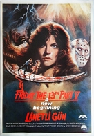 Friday the 13th: A New Beginning - Turkish Movie Poster (xs thumbnail)