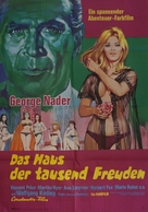 La casa de las mil muñecas - German Movie Poster (xs thumbnail)