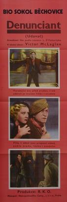 The Informer - Czech Movie Poster (xs thumbnail)