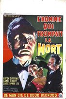 The Man Who Could Cheat Death - Belgian Movie Poster (xs thumbnail)