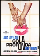 Deep Throat Part II - Italian Movie Poster (xs thumbnail)