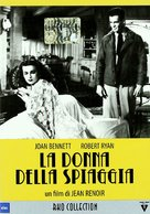 The Woman on the Beach - Italian DVD cover (xs thumbnail)