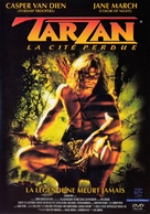Tarzan and the Lost City - French DVD cover (xs thumbnail)