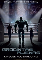 Real Steel - Lithuanian Movie Poster (xs thumbnail)