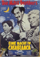 A Night in Casablanca - German Movie Poster (xs thumbnail)