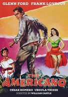 The Americano - DVD cover (xs thumbnail)