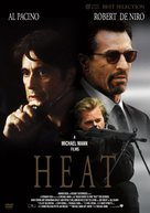 Heat - Japanese DVD movie cover (xs thumbnail)