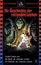 El ataque de los muertos sin ojos - German VHS movie cover (xs thumbnail)