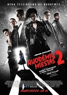 Sin City: A Dame to Kill For - Lithuanian Movie Poster (xs thumbnail)