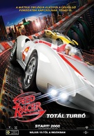 Speed Racer - Hungarian Movie Poster (xs thumbnail)