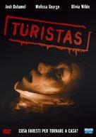 Turistas - Italian DVD cover (xs thumbnail)