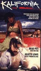 Kalifornia - Italian VHS cover (xs thumbnail)