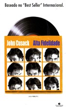 High Fidelity - Brazilian DVD movie cover (xs thumbnail)