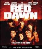 Red Dawn - Blu-Ray movie cover (xs thumbnail)