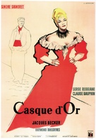 Casque d'or - French Movie Poster (xs thumbnail)