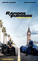 Fast & Furious Presents: Hobbs & Shaw - Mexican Movie Poster (xs thumbnail)