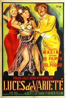 Luci del varietà - Argentinian Movie Poster (xs thumbnail)