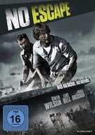 No Escape - German Movie Cover (xs thumbnail)