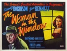 The Woman in the Window - British Movie Poster (xs thumbnail)