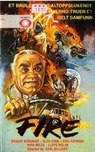 Fire! - Norwegian VHS movie cover (xs thumbnail)