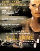 G.I. Jane - Swedish Movie Poster (xs thumbnail)