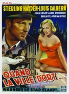 The Asphalt Jungle - Belgian Movie Poster (xs thumbnail)
