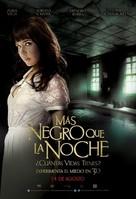 Más negro que la noche - Mexican Movie Poster (xs thumbnail)