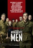 The Monuments Men - Spanish Movie Poster (xs thumbnail)