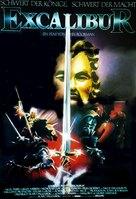 Excalibur - German Movie Poster (xs thumbnail)