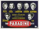 The Paradine Case - British Movie Poster (xs thumbnail)
