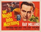 Night Into Morning - Movie Poster (xs thumbnail)