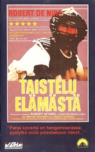 Bang the Drum Slowly - Finnish VHS movie cover (xs thumbnail)