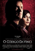 The Da Vinci Code - Brazilian Movie Poster (xs thumbnail)