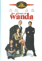A Fish Called Wanda - Argentinian DVD cover (xs thumbnail)