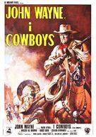 The Cowboys - Italian Movie Poster (xs thumbnail)