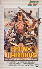 1990: I guerrieri del Bronx - VHS movie cover (xs thumbnail)