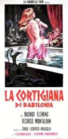Cortigiana di Babilonia - Italian Movie Poster (xs thumbnail)