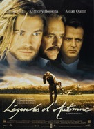 Legends Of The Fall - French Movie Poster (xs thumbnail)