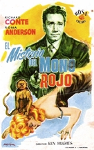 Little Red Monkey - Spanish Movie Poster (xs thumbnail)