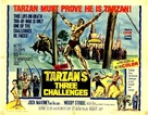 Tarzan's Three Challenges - British Movie Poster (xs thumbnail)