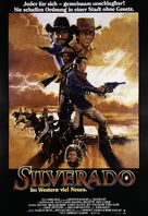 Silverado - German Movie Poster (xs thumbnail)