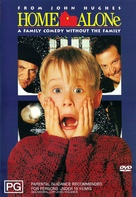 Home Alone - Australian DVD cover (xs thumbnail)