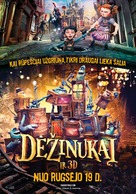 The Boxtrolls - Lithuanian Movie Poster (xs thumbnail)