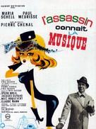 L'assassin connaît la musique... - French Movie Poster (xs thumbnail)