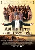 Så som i himmelen - Mexican Movie Poster (xs thumbnail)