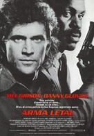 Lethal Weapon - Spanish Movie Poster (xs thumbnail)