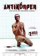 Antikörper - German Movie Poster (xs thumbnail)