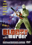 Bloody Murder - French DVD cover (xs thumbnail)