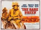 The Rare Breed - British Movie Poster (xs thumbnail)